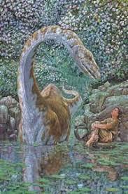 Job 40: 15 Behold the Behemoth