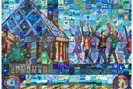 Edmonton Alberta Canada 150 mural