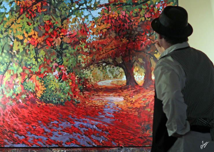 Fall Pathway live art