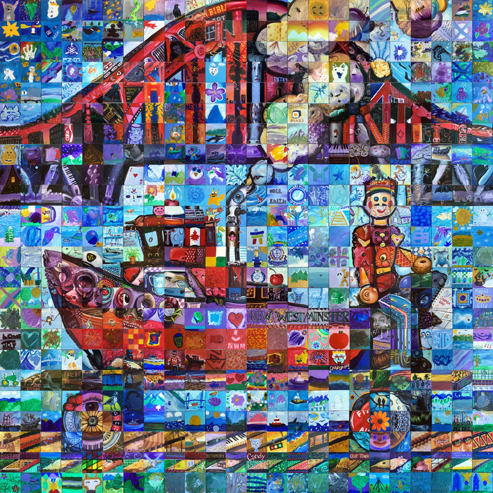 New-Westminster- Canada 150 Mural
