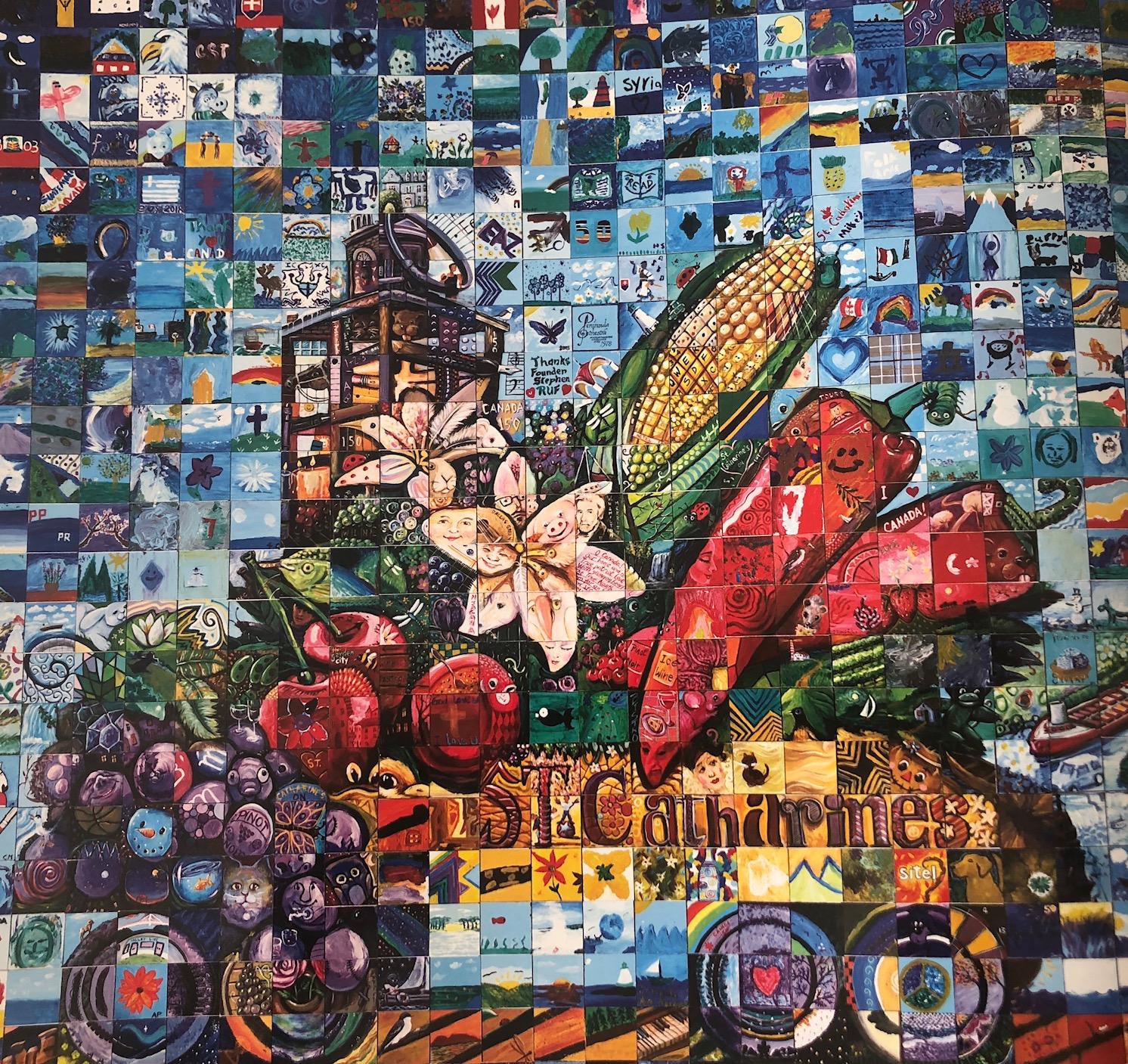 St. Catharines Ontario Canada 150 mural