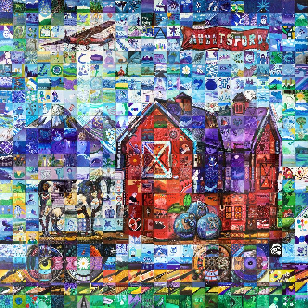 Abbotsford British Columbia Canada 150 mural