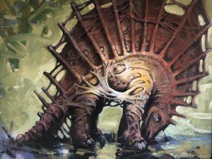 Spine Dinosaur
