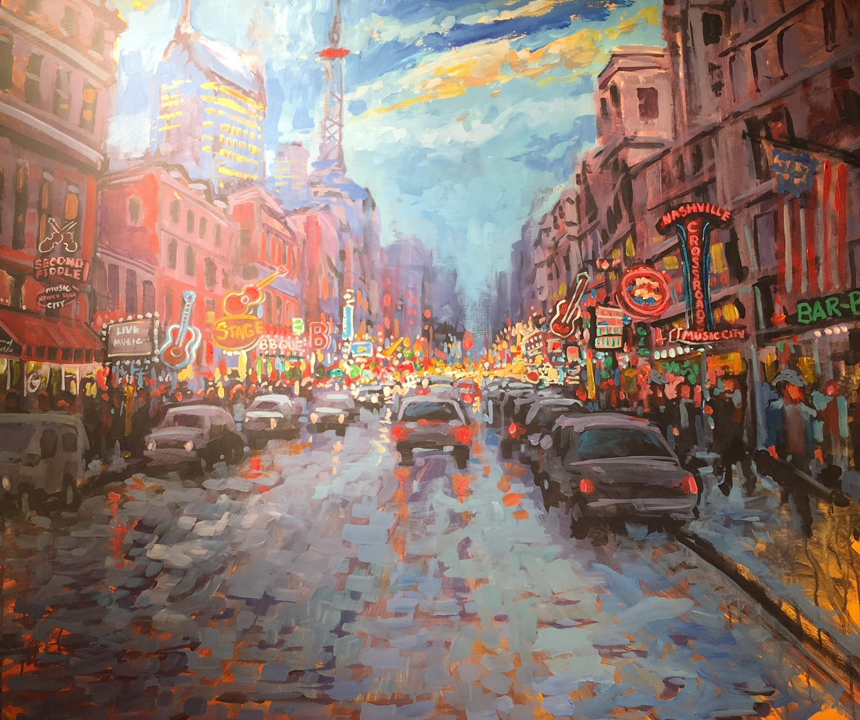 Live art Street Scene