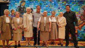 The sisters of Charity at Sister Alphonse School