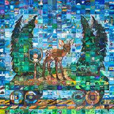 Spruce Grove Canada 150 mural mosaic
