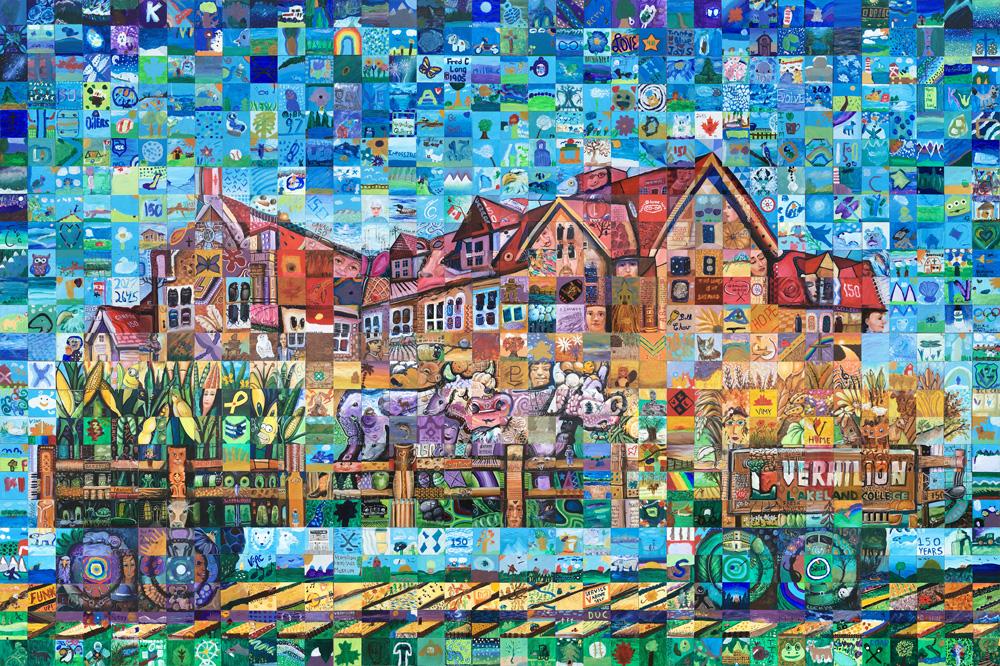 Vermilion, Alberta Canada 150 mural