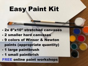 Easy paint kit