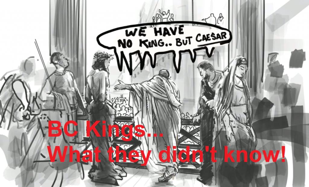 king of kings episode 2 BC kings